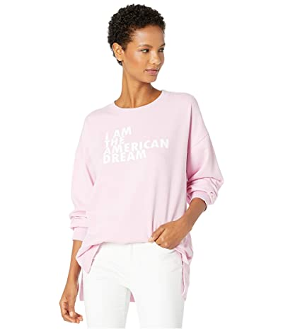 DUBGEE by Whoopi American Dream Sweatshirt (Pink) Women