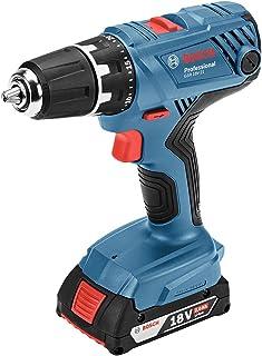 Bosch Professional(ボッシュ) 18V コードレスドライバードリル (2.0Ahバッテリー2個・充電器・キャリングケース付) GSR18V-21
