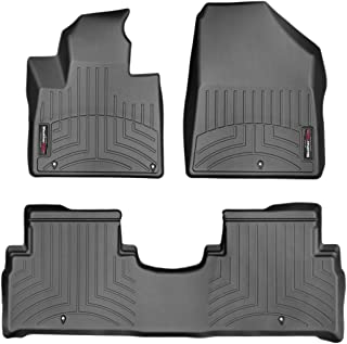 WeatherTech Custom Fit FloorLiner for Kia Sorento - 1st & 2nd Row (Black)
