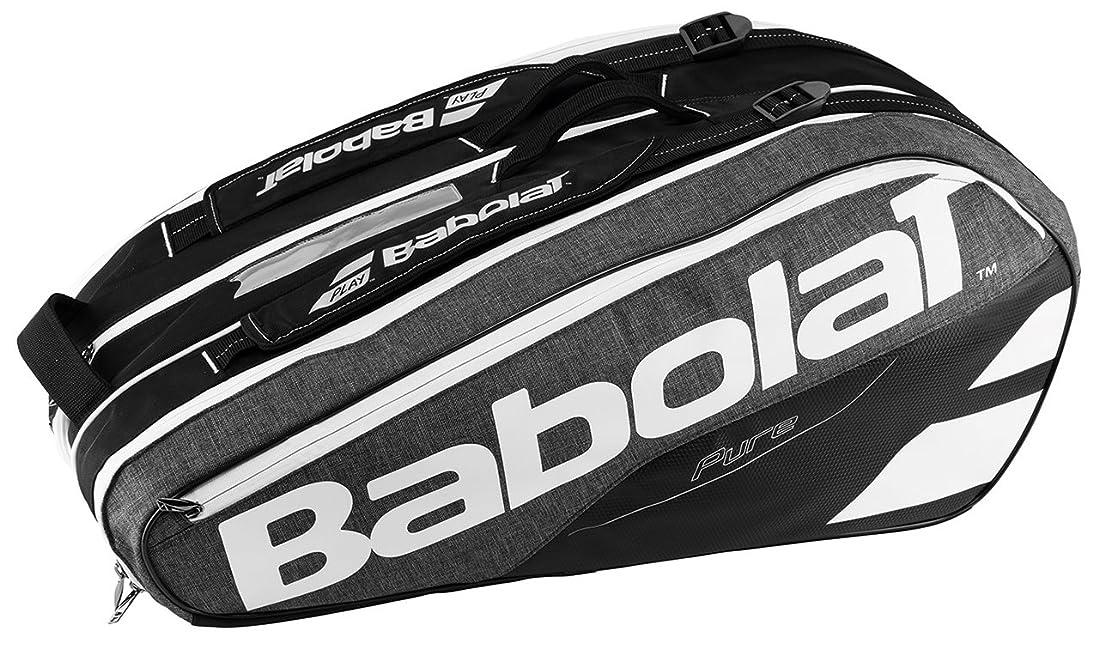 迷惑バスト電気バボラ(BabolaT) テニスバッグ ピュア?ライン ラケットバッグ(9本収納可) BB751134