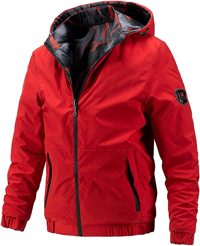 Men Casual Jacket Lightweight Long Beach Mall Hoodies O Wear Coats AutumnWinter Max 55% OFF