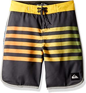 Quiksilver Big Boys' Everyday Grass Roots Youth 17 Boarshort Swim Trunk