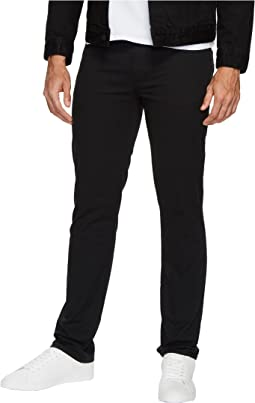 Slim Straight Stretch Calvary Pants