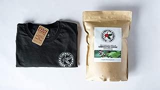 Single Origin Unroasted Green Coffee Beans, AA Grade From Small Regional Kenyan Coffee Farmer Co-Op. Direct Trade (5 Pounds & Free T-Shirt)