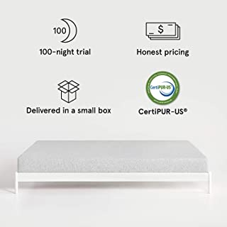 Nod by Tuft & Needle Twin XL Mattress, Amazon-Exclusive Bed in a Box, Responsive Foam, Sleeps Cooler & More Support Than Memory Foam, More Responsive Than Latex, CertiPUR-US, 10-Year Limited Warranty