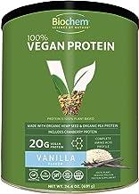 Sponsored Ad - Biochem 100% Organic Plant Protein - Vanilla Flavor - 24.4 oz