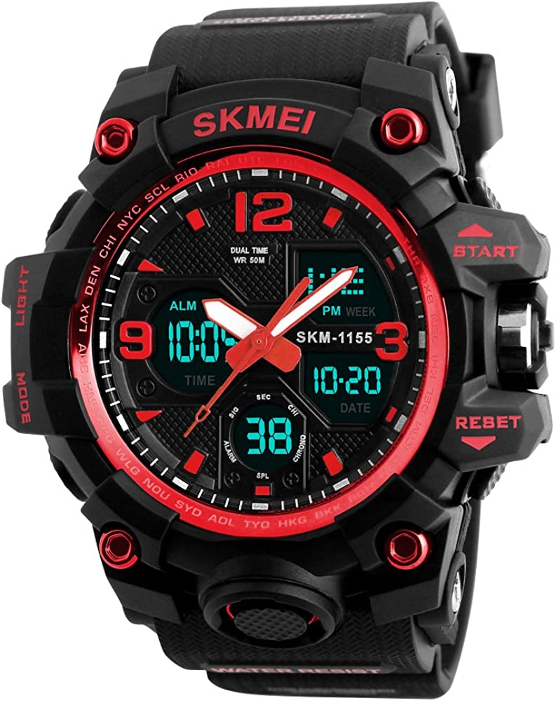 Men's Max 79% OFF Watches service Sports Outdoor 50M Military Waterproof Watch Wrist