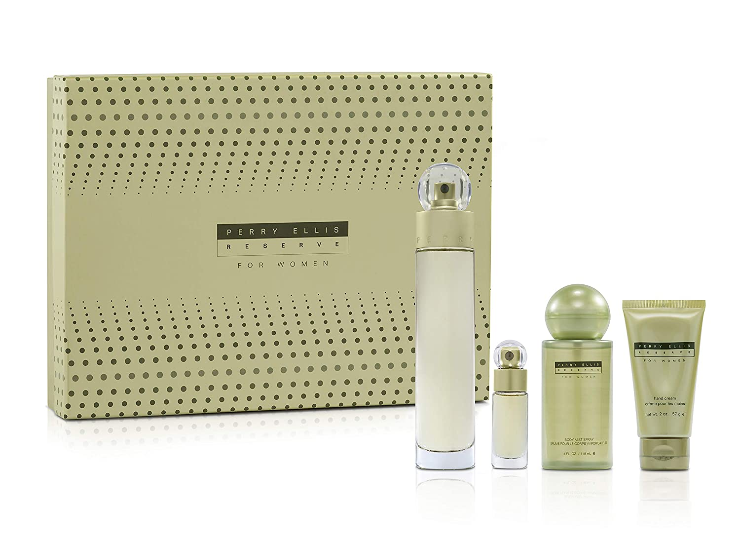 Perry Ranking TOP19 Clearance SALE! Limited time! Ellis Fragrances Reserve 4 for Women Set Piece Gift