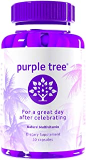 Sponsored Ad - Purple Tree Celebration Vitamin Pills | Rapid Hydration, Liver Detox, Better Mornings | Dihydromyricetin DH...