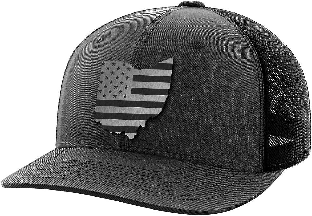 Ohio United Black Patch Hat
