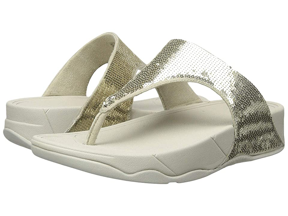 FitFlop Electratm Classic Toe Post (Pale Gold) Women