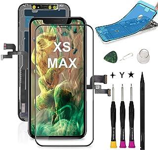 iphone XS MAX 液晶パネル COASD iphoneXS MAX フロントパネル交換 iPhone XS MAX 修理パーツ iphone XS MAX screen replacement フロントパネル 3D 液晶パネルタッチス...