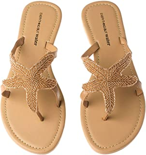 Best beaded starfish sandals Reviews