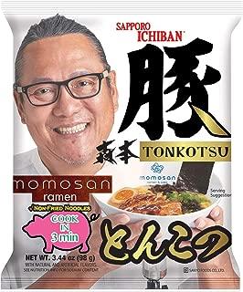 Sapporo Ichiban Tonkotsu Momosan Ramen, 3.44 Ounce (Pack of 5)