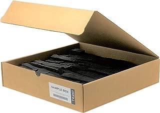 Modern Panel - Alaska Ledgestone - Jet Black - Sample Box - Manufactured Stone Veneer