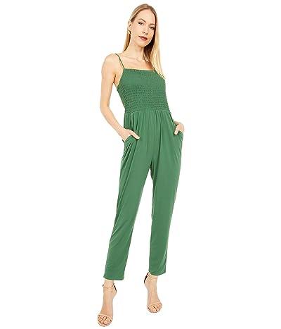 BCBGeneration Smocked Cami Jumpsuit B1SX5D14 (Palm) Women