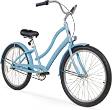 Firmstrong Women's CA-520 Alloy Beach Cruiser Bicycle, 15.5-Inch