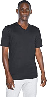 Organic Fine Jersey V-Neck Short Sleeve T-Shirt