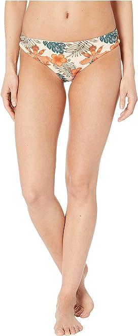 3d384f52ea6 Roxy Print Strappy Love Reversible Fixed Triangle Bikini Top ...