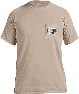 Image One NCAA Crawfish Boil Short Sleeve Comfort Color Pocket Tee