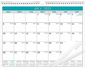 2020-2021 Calendar – 18 Months Wall Calendar with Julian Date, Thick Paper Perfect..