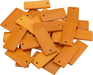 Dedoot Blank Wood Gift Tags, Pack of 50 1.8