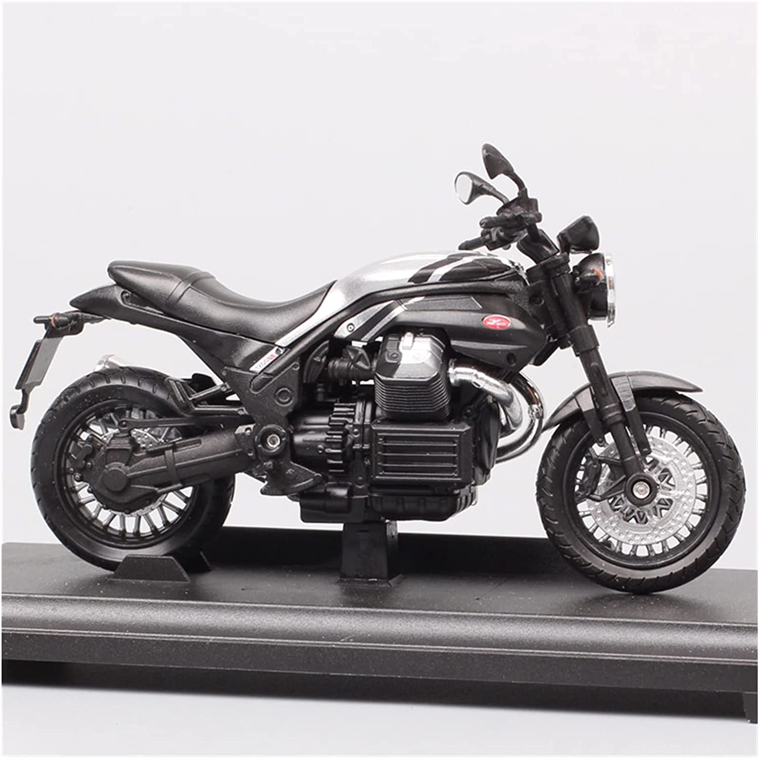 Motorcycle Alloy Decoration Toys 1:18 Max 53% OFF for Las Vegas Mall Guzzi Moto Griso 1200