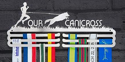 Runners Wall Mannelijke Canicross Medaille Display