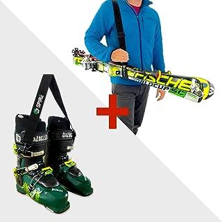 ski boot booster strap