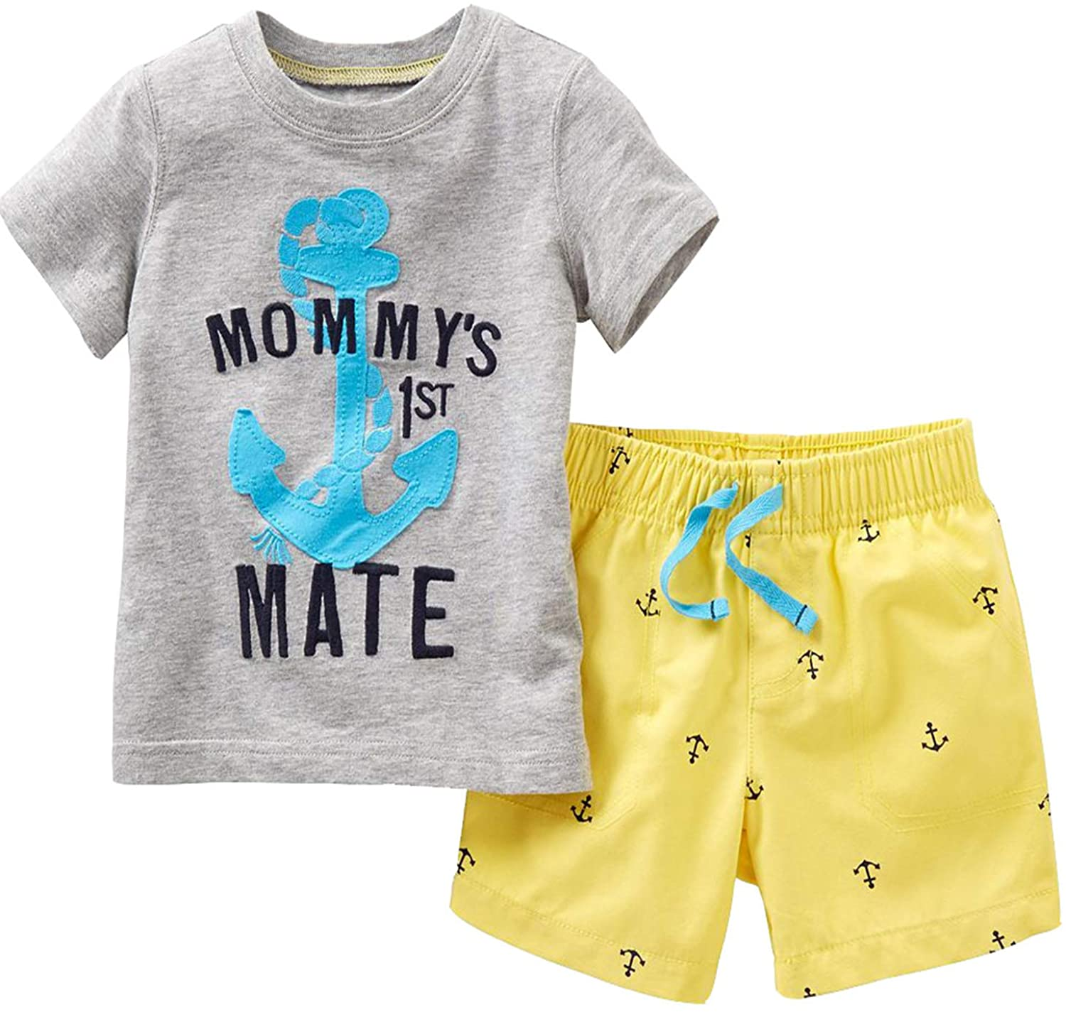 Toddler Max 65% OFF Boys Cotton Clothing Sets Tee Short Sleeve and Ranking TOP13 Shorts