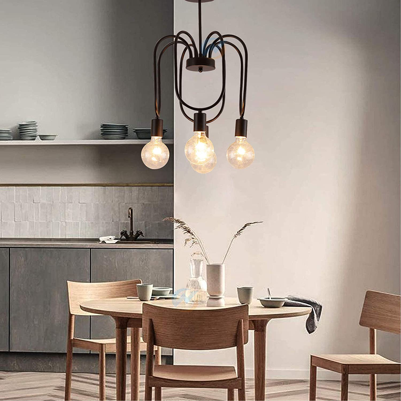 Crystal Pendant Light Dining Room Chandelier Round Modern Design ...