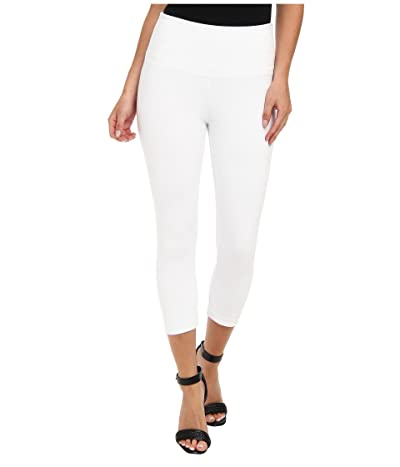 Lysse Perfect Denim Capri 6173C (White) Women