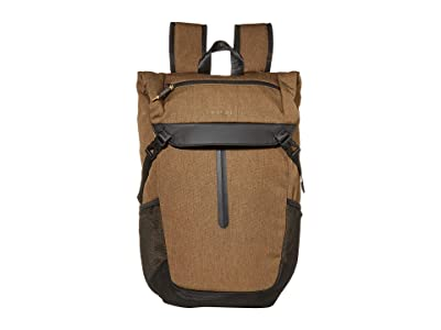 Hedgren Relate Folder Backpack (Beech Khaki) Backpack Bags