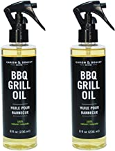 Caron & Doucet - 100% Plant-Based BBQ Grill Cleaner Bundle (2 Items) - A Great Barbecue Tool to use with BBQ Scraper Accessories. Cleans and degreases Grills, grates, Buttons and Covers. (2X 8oz)