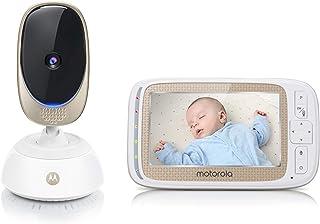 Motorola Baby 501278604014 Comfort C85 Connect, Video-Babyfoon Met Pan- En Zoomfunctie, 5,0 inch Kleurendisplay, Nachtzich...