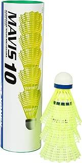 Yonex Mavis 10 6X1 Nylon Shuttlecock (Blue/Yellow)