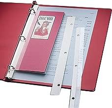 Best self adhesive binder strips Reviews