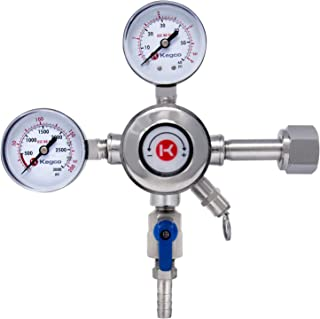 Kegco KC LH-542 Draft Beer Regulator, Chrome