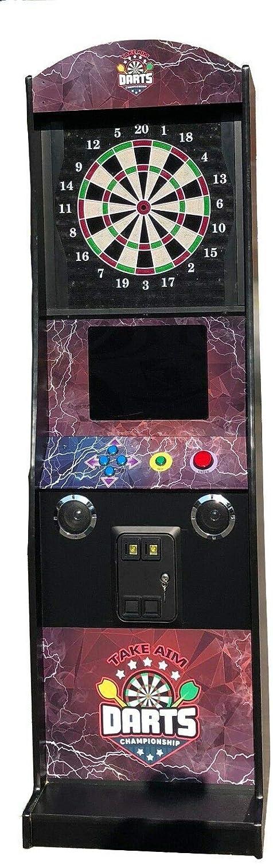 Electronic Coin Operated Take Aim Dart Board