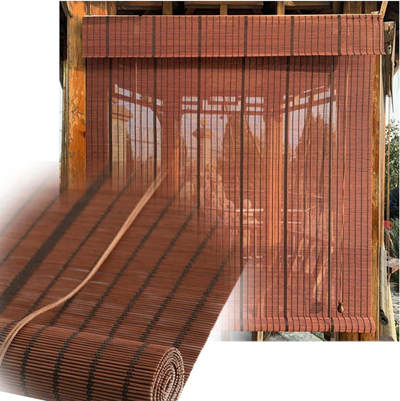 LIANGJUN Bamboo Curtain Roller Blind Summer Roman 2021 Shades Window sale