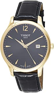 Tissot Womens Quartz Watch, Analog Display and Leather Strap T063.610.36.642.14