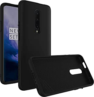 RhinoShield Case for OnePlus 7 Pro [SolidSuit] | Shock Absorbent Slim Design Protective Cover with Premium Matte Finish [3.5M/11ft Drop Protection] - Classic Black