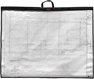 Adir Corp. PS2436 Foldable Waterproof Plans Shield - Blueprint Shield - Plans Carrier - Blueprint Carrier - Map Case - Map Shield - Document Case (24 x 36)