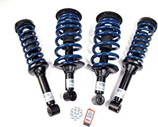 Atlantic British Land Rover Standard Air Suspension to Coil Spring Conversion Kit for 2005-2009 LR3
