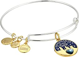 Harry Potter Hogwarts is My Home Bangle Two-Tone