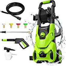 Sponsored Ad – [2021 Pressure Washer, Paxcess 135Bar 1800W Electric Power Jet Washer Portable Car Power Washer Machine wit...