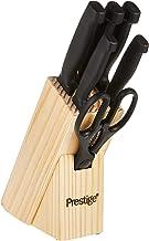 مجموعة سكاكين المطبخ برستيج، طقم من 7 قطع PR50919 لون اسود