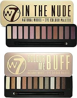W7 In The Nude Eye Shadow Palette & Colour Me Buff Eye Shadow Palette Set