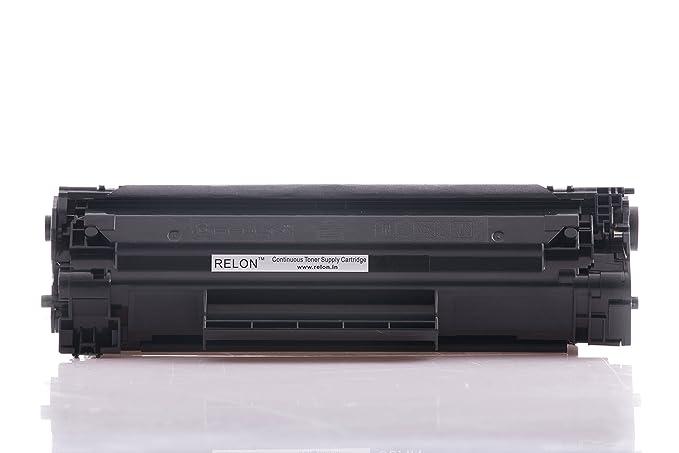 Relon 6X 88A Laserjet Toner Cartridge  Black  Toner Cartridges