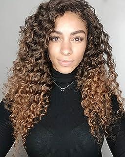 Ocean Wave Crochet Hair 20 Inch Deep Wave Braiding Hair 6 Packs Loose Crochet Hair Synthetic Wavy Crochet Hair Ocean Wave ...